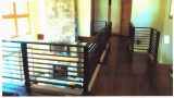 Indoor hand railing for Silver Mountain Contracting